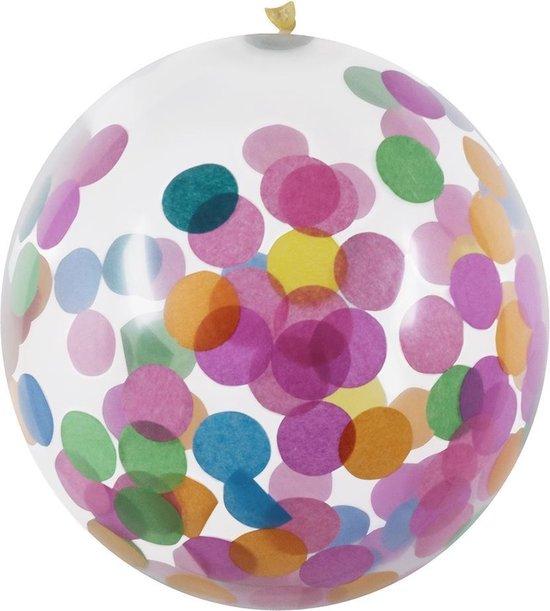 Boland Confettiballonnen 5 Stuks 30 Cm Multicolor