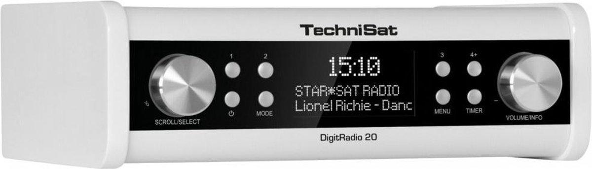 Technisat Digitradio 20 - wit