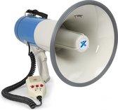 Megafoon - Vonyx MEG060 - Megafoon 60W met USB / SD mp3 speler, sirene en afneembare microfoon