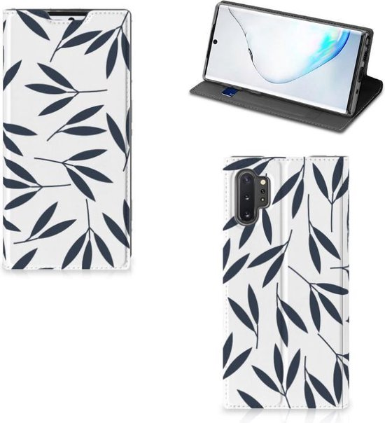 Samsung Galaxy Note 10 Plus Smart Cover Leaves Blue