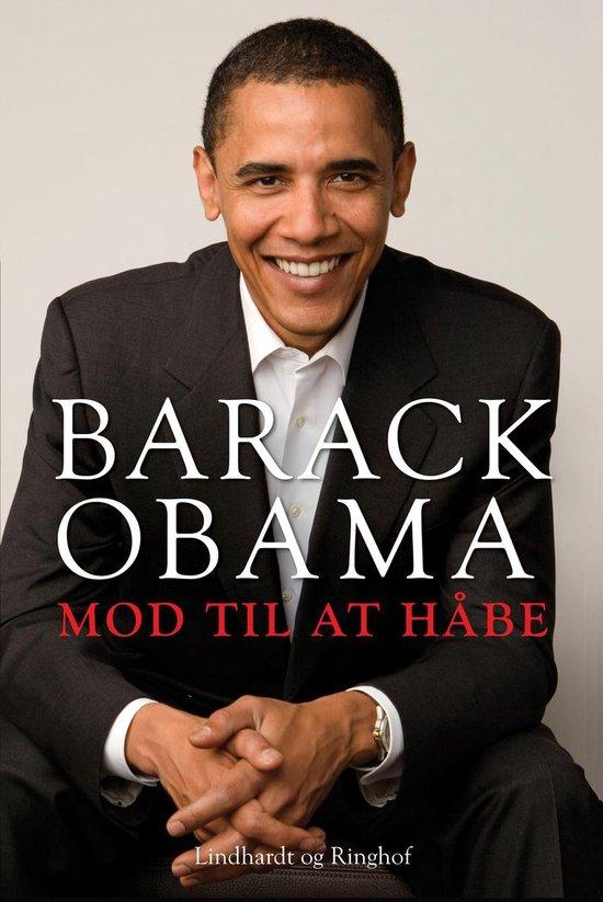 Boek cover Mod til at håbe van Barack Obama