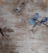 Fotobehang - Zelfklevende folie - Vintage vogels