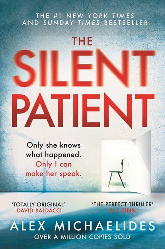 Boek cover The Silent Patient van Alex Michaelides (Onbekend)