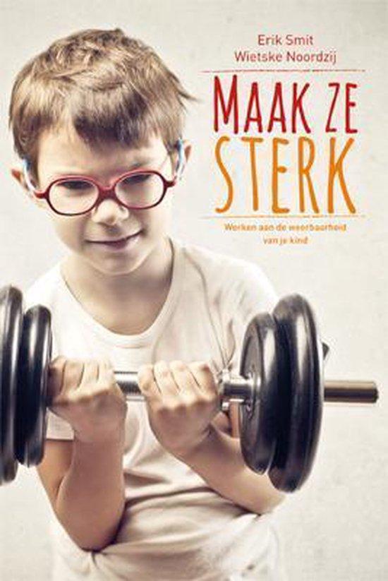 Cover van het boek 'Maak ze sterk'