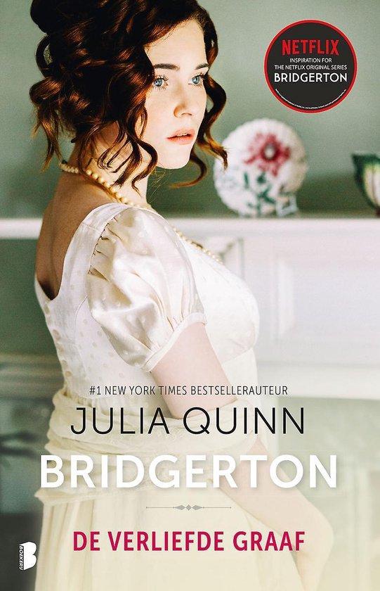 Boek cover Bridgerton 2 -   De verliefde graaf van Julia Quinn (Paperback)