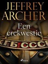 Boek cover Een erekwestie van Jeffrey Archer (Onbekend)