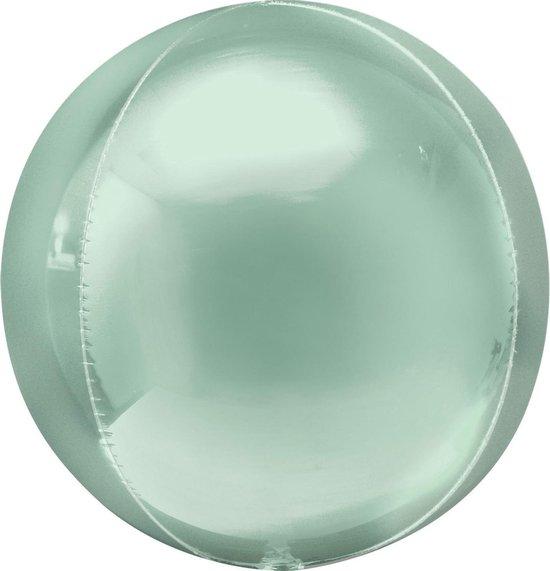 Amscan Folieballon Orbz 40 Cm Mintgroen