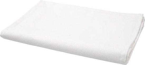 Theedoek. wit. afm 50x70 cm. 70 gr. 5 stuk/ 1 doos