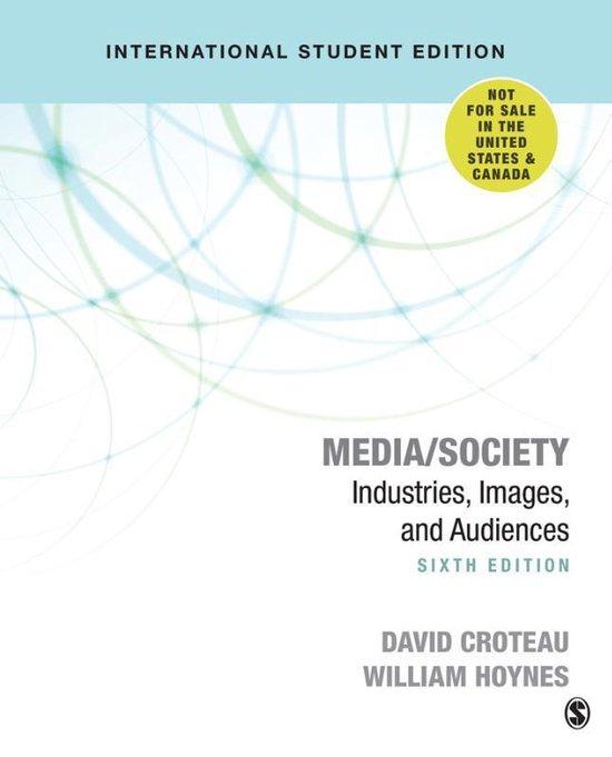 Boek cover Media/Society van David R. Croteau (Paperback)