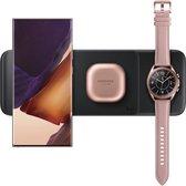 Wireless Charger Trio Samsung / Galaxy Watch / Galaxy Buds - Zwart