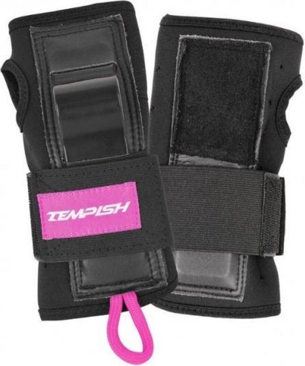 polsbeschermer Acura 1 unisex zwart/roze maat L