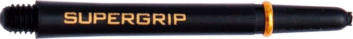 Harrows Supergrip Nylon Shaft Zwart Goud Medium 3 St.