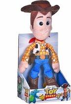 Pluche Disney Toy Story 4 Woody knuffel 25 cm speelgoed - Cartoon knuffelpoppen - Cowboy Woody Acion