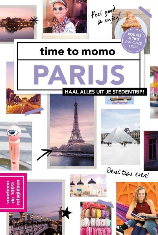 Boek cover time to momo Parijs van Roosje Nieman (Hardcover)