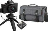 Panasonic Lumix DC-G100 Vlogkit Compleet (incl. 12-32mm, tripod, tas en accu) - Zwart