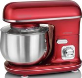 Bomann KM 6010 CB keukenmachine 1100 W 5 l Rood, Roestvrijstaal kneedmachine
