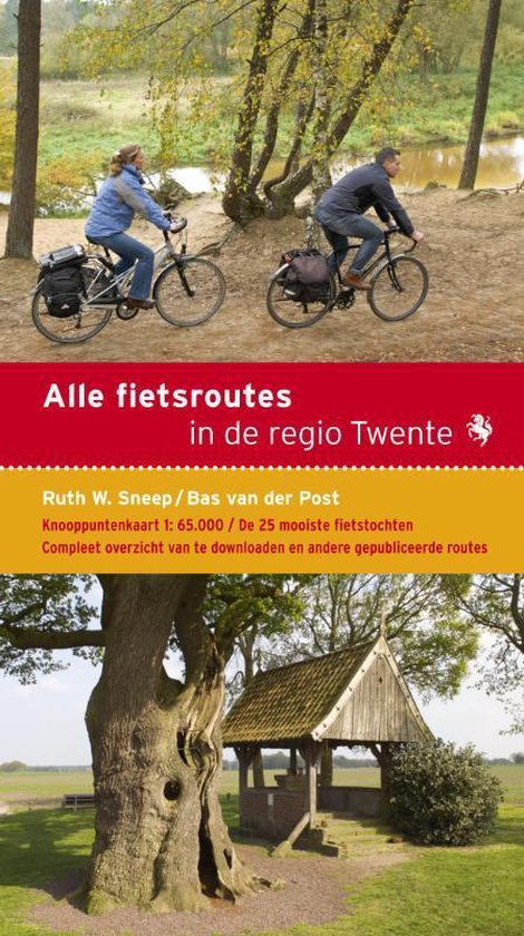 Cover van het boek 'Alle fietsroutes in de regio Twente'