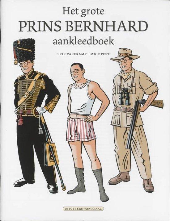 Cover van het boek 'Agent Orange: Het grote prins Bernhard aankleedboek'