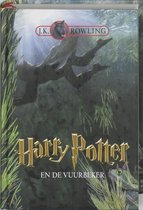 Boek cover Harry Potter 4 -   Harry Potter en de vuurbeker van Olly Moss (Hardcover)