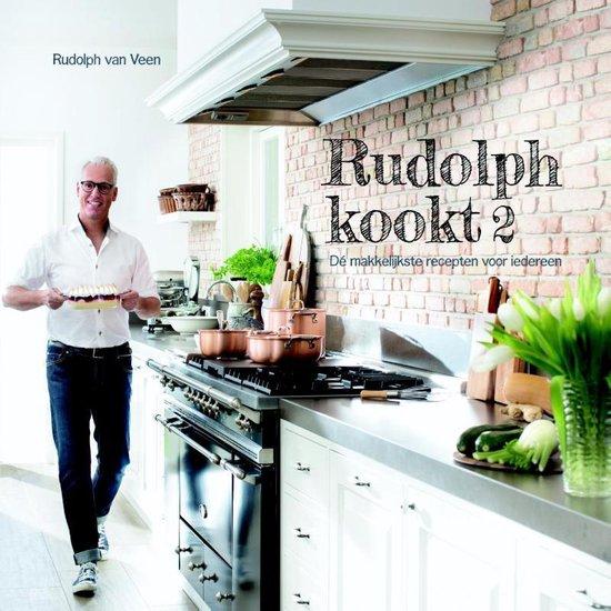 Boek cover Rudolph kookt 2 2 Hét basisboek voor iedereen van Rudolph van Veen (Hardcover)