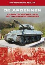 Boek cover Historische route de Ardennen van Aad Spanjaard (Paperback)