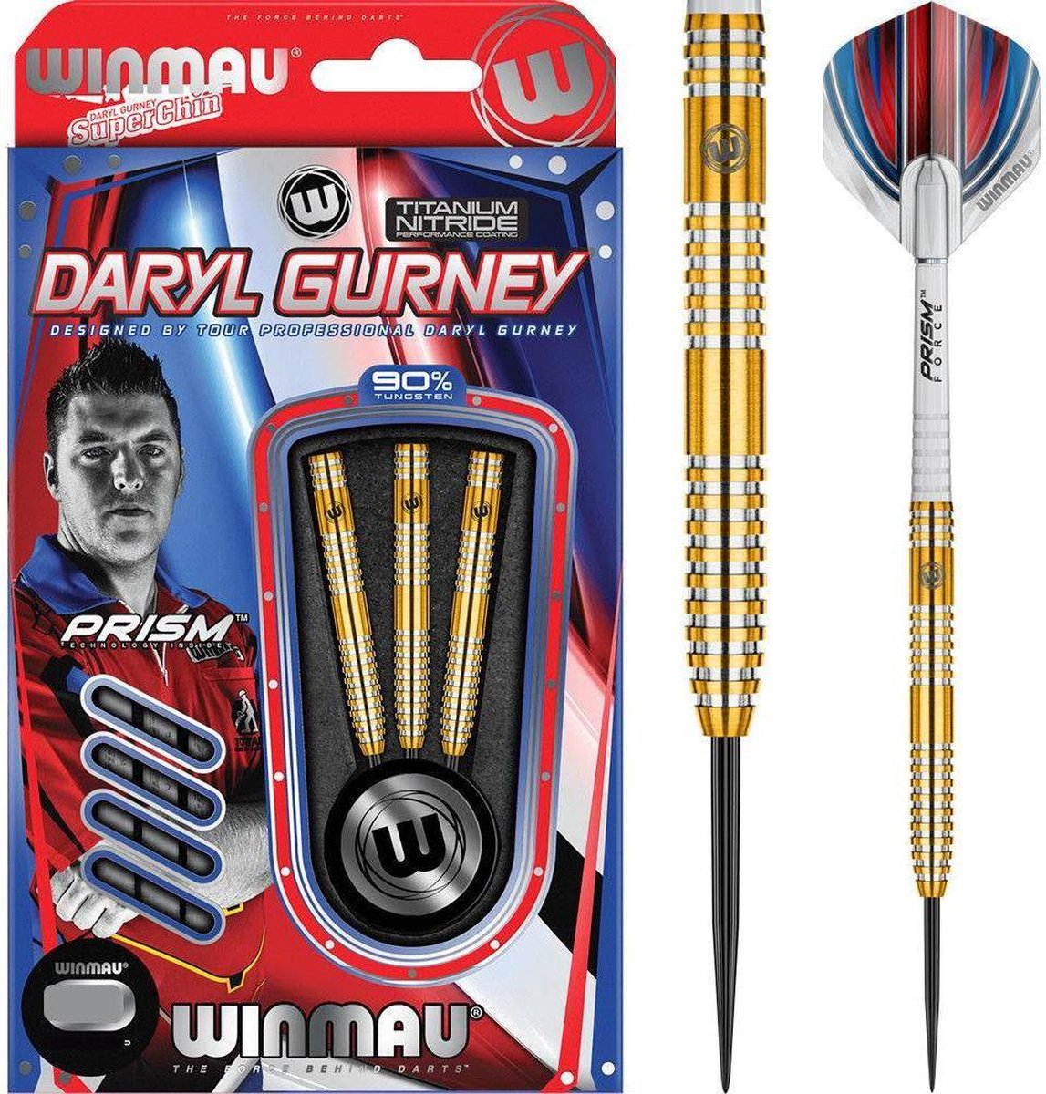 Winmau Daryl Gurney 90% - 25 Gram