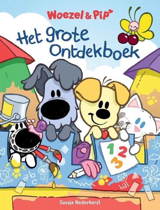 Boek cover Woezel & Pip  -   Het grote ontdekboek van Guusje Nederhorst (Hardcover)