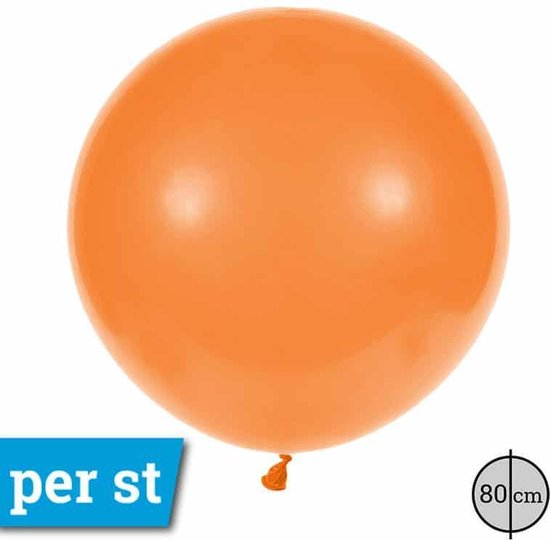 Cattex latex reuze ballon 80cm Oranje Orange