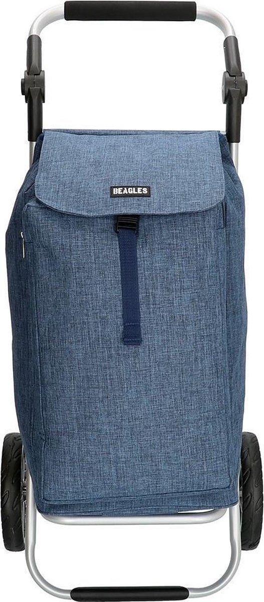 Beagles - Shoppingtrolley - Blauw.