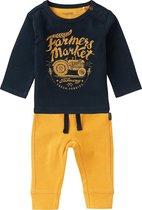 Noppies Baby Jongens Set Flagstaff - Dark Sapphire - Maat 74