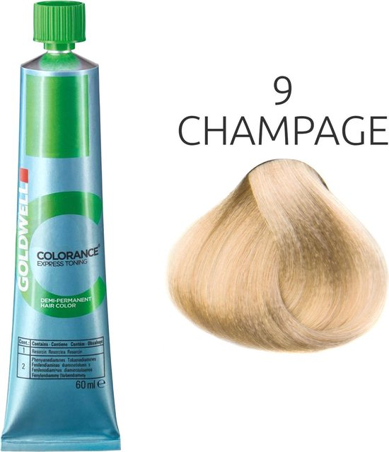 Goldwell Colorance Express Toning Tube 9 champagne 60ml
