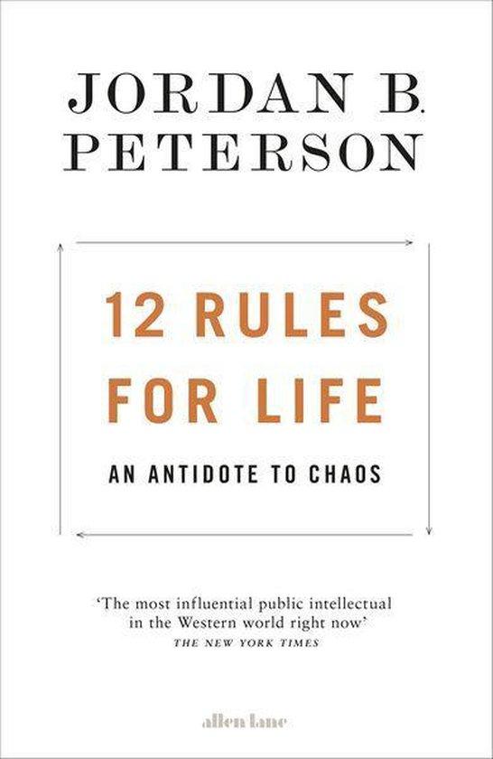 Boek cover 12 Rules for Life van Jordan B. Peterson (Onbekend)