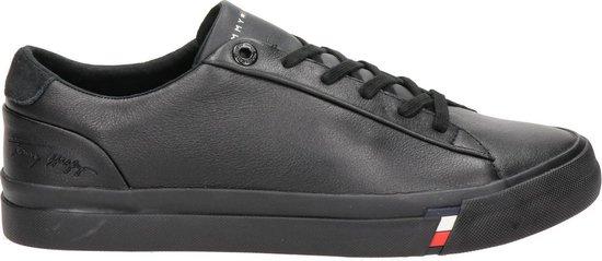 Tommy Hilfiger heren sneaker - Zwart - Maat 44