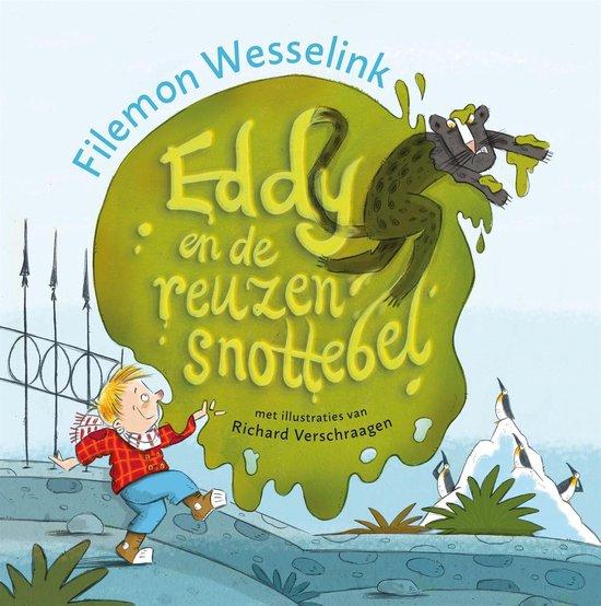 Boek cover Eddy en de reuzensnottebel van Filemon Wesselink (Onbekend)