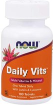 Now Daily Vits 100 Tabs