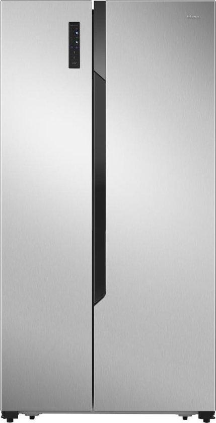 Koelkast: ETNA AKV178RVS - Amerikaanse koelkast - RVS, van het merk ETNA