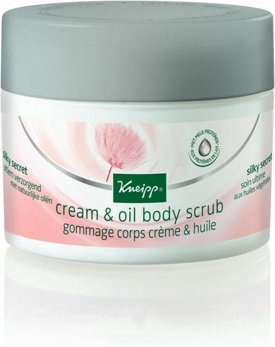 Cream & oil body scrub Silky Secret