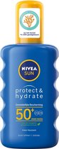 NIVEA SUN Protect & Hydrate Zonnespray SPF 50+ - 200 ml