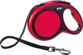 Flexi New Comfort Tape - Hondenriem - Rood/Zwart - L - 8 m - (<50 kg)