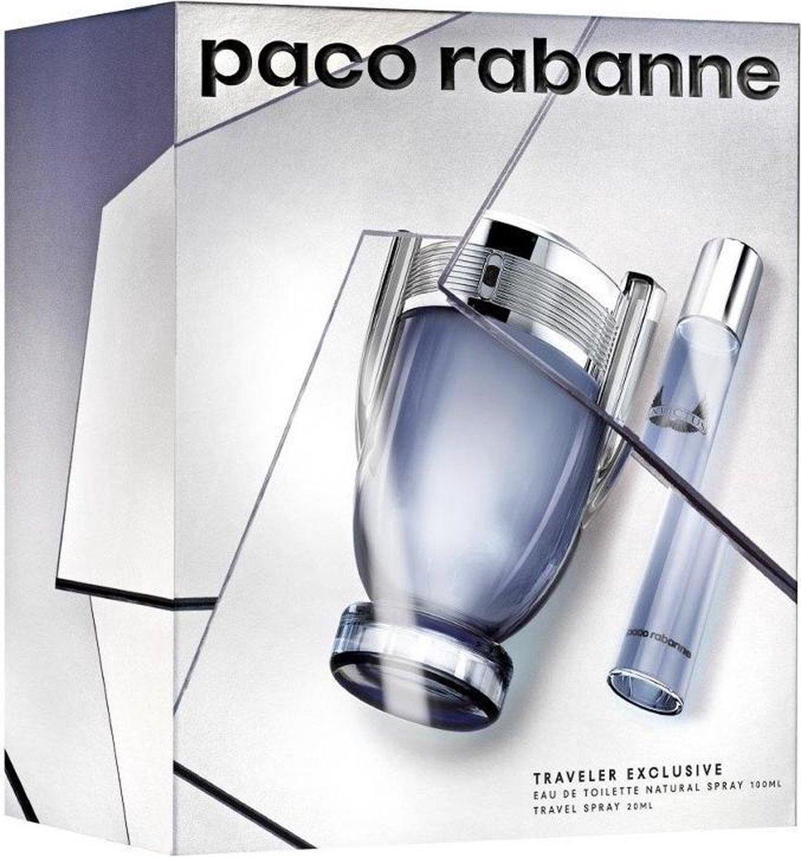 Invictus 100ml Edt + Mini 20ml Edt - Paco Rabanne set