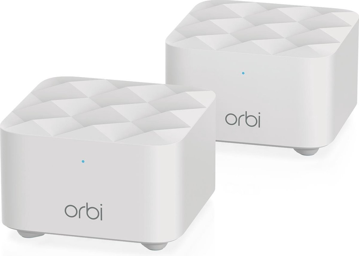 Netgear Orbi RBK12 Kit - Multiroom Wifi - 1 Router + 1 Satelliet