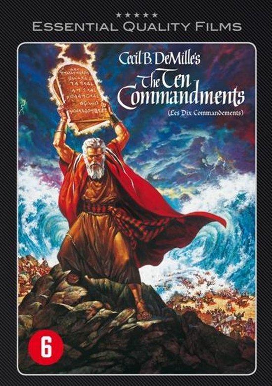 Cover van de film 'The Ten Commandments'