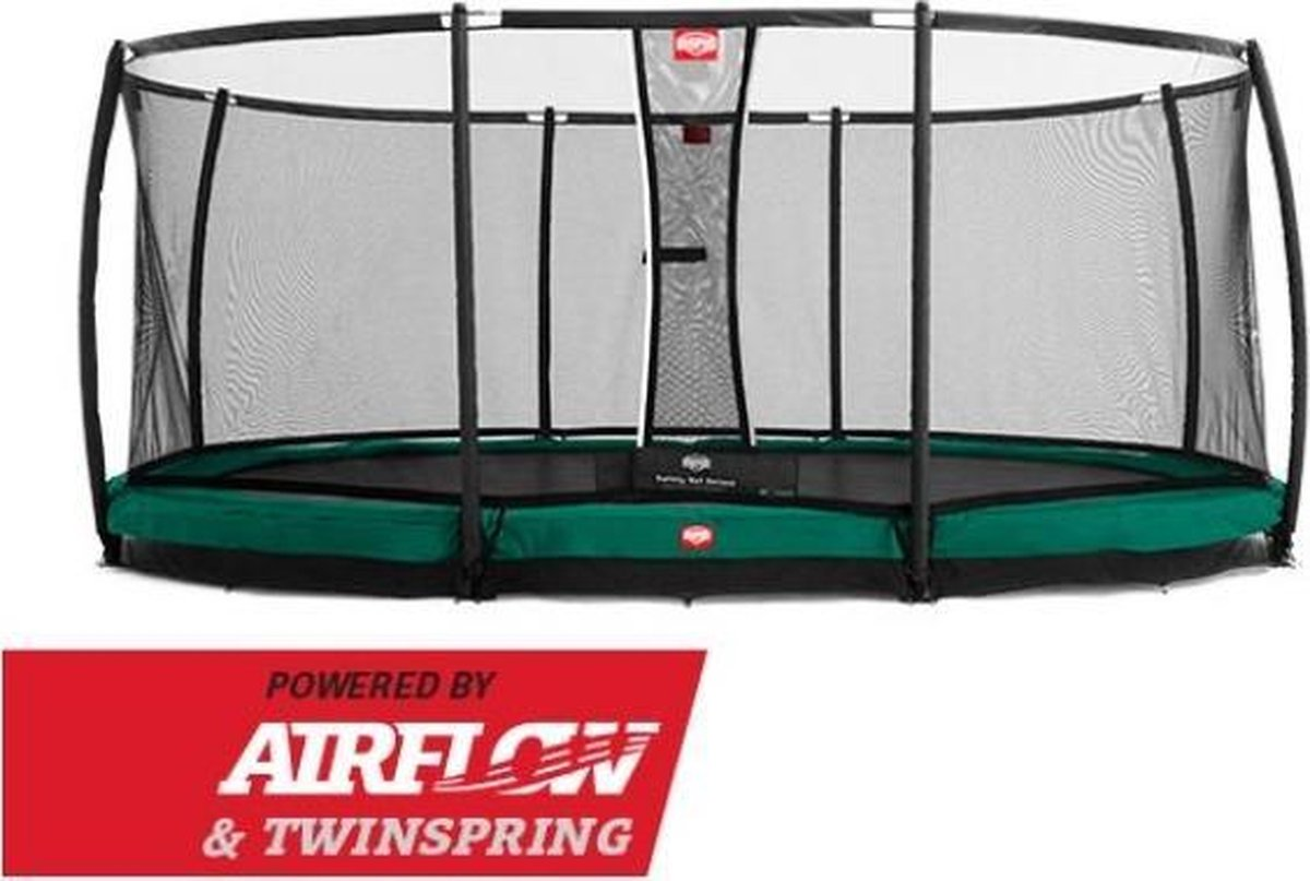 BERG trampoline Grand Champion Inground 520 + Safety Net Deluxe