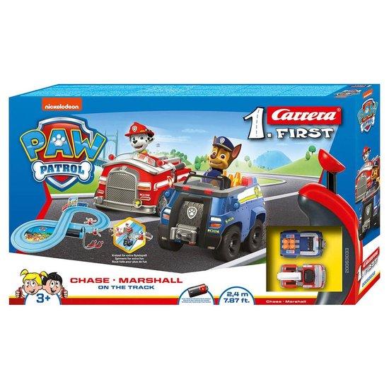 Afbeelding van Carrera First PAW Patrol - Racebaan 2,4 m speelgoed