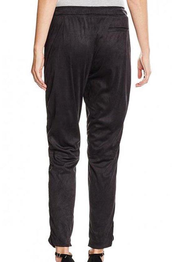 Garcia zwarte suèdelook tapered fit broek - Maat XS