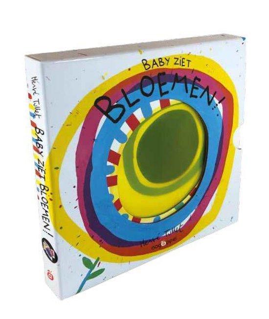 Boek cover Baby ziet...  -   Bloemen van Hervé Tullet (Hardcover)