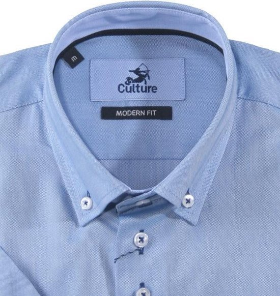 Culture Regular Fit Heren Overhemd M