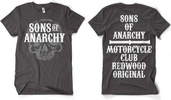 Sons Of Anarchy grijs shirt heren M