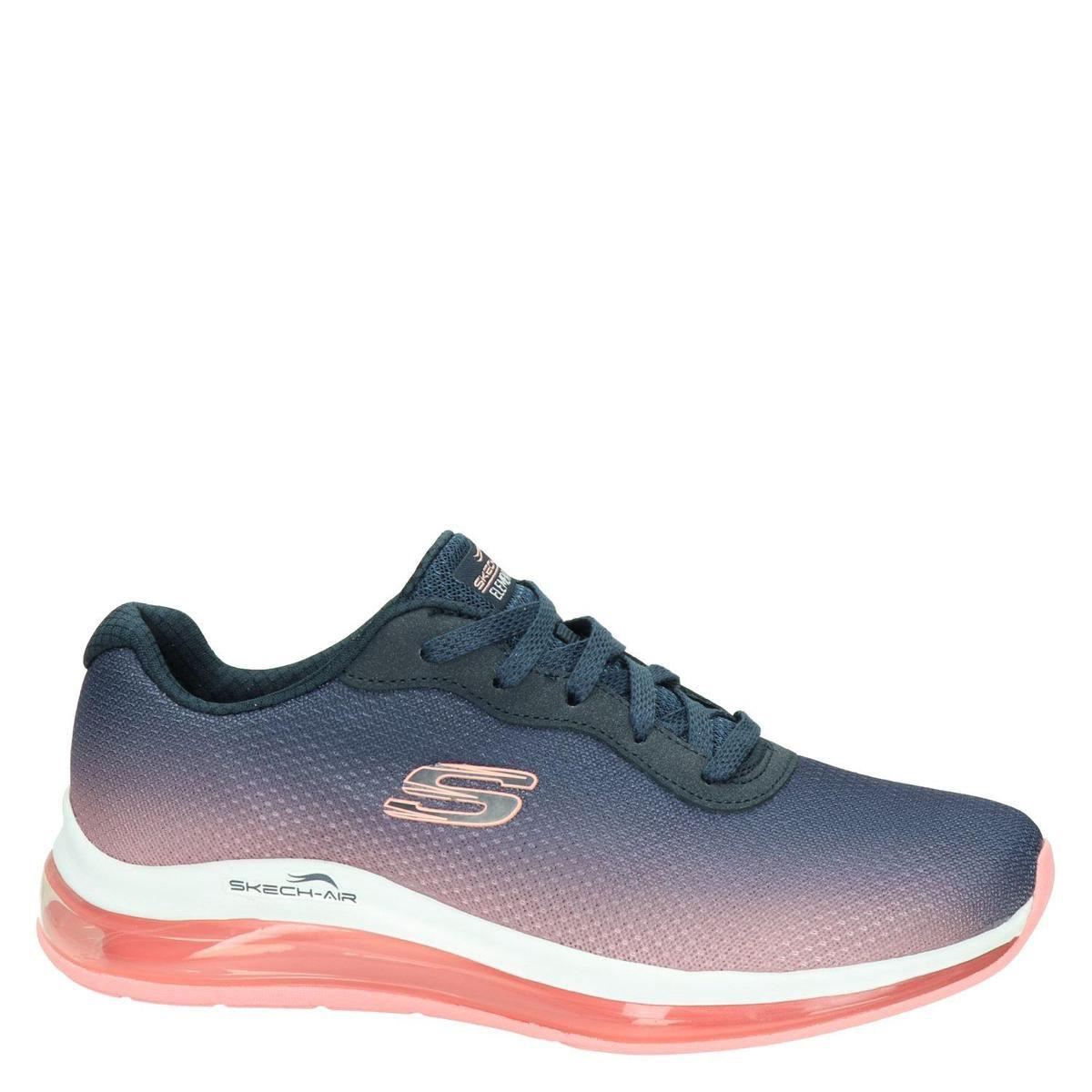 Skechers Skech Air Infinity Dames Sneakers - Navy - Maat 38