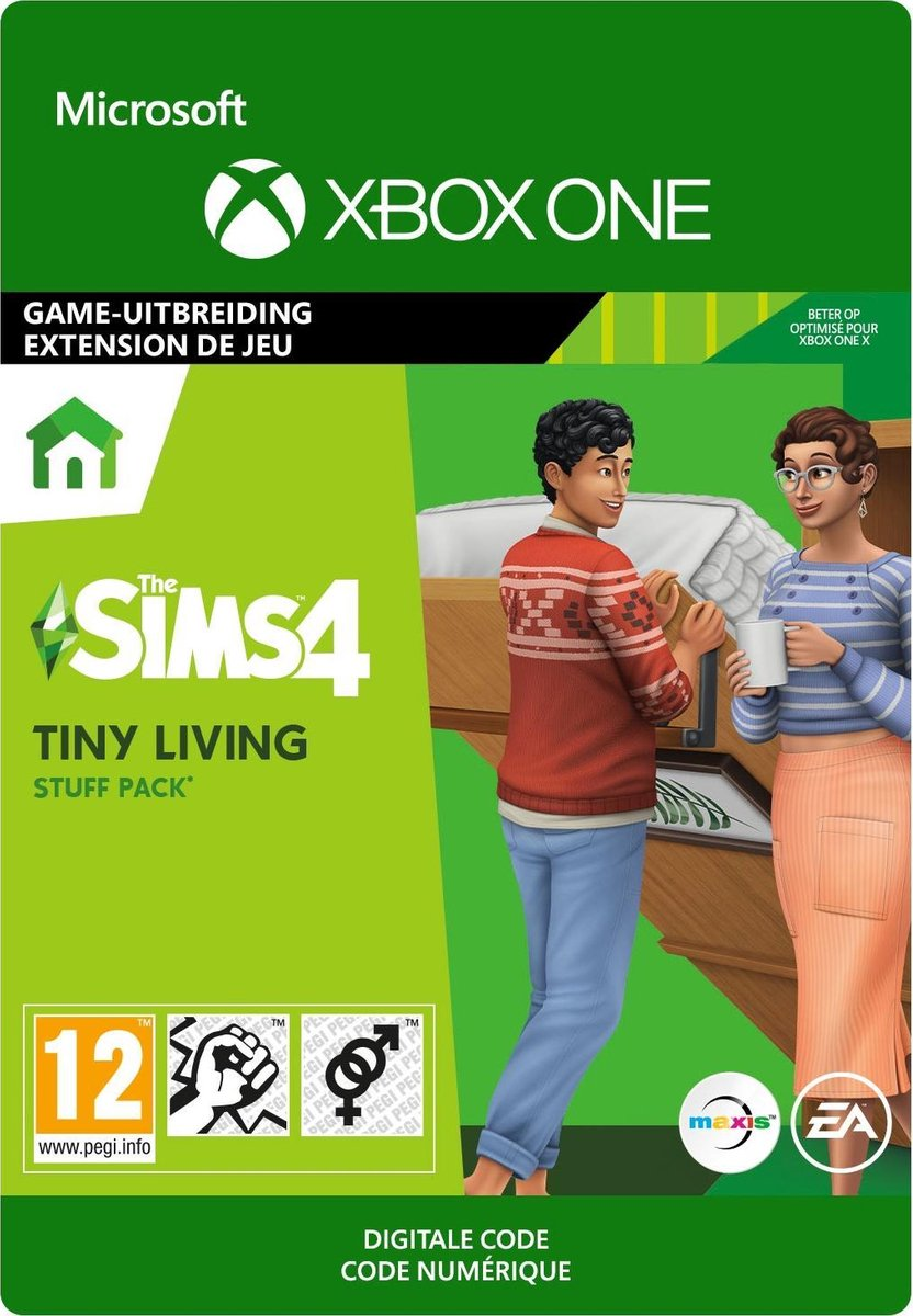 The Sims 4: Tiny Living Stuff - Add-on - Xbox One Download
